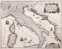 Nova Italiae Delineatio.