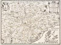 Tavola esatta dell'antico Lazio e nova campagna di Roma