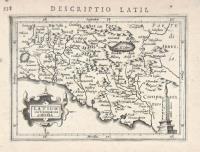 Latium sive Campania di Roma.