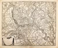 Carte topographique de la plus grande partie du Duchè de Mantoue levee sur les lieux.