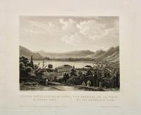 Como - Veduta generale della città e Borgo Vico - Vue gènèral de la ville et du faubourg Vico.