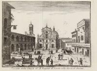 Facciata della Chiesa di M. Vergine di Loreto nella Marca di Ancona