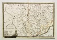 L'alta Lombardia, terzo foglio che comprende parte degli Stati del re di Sardegna e parte della Repubblica di Genova.