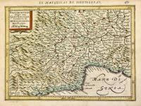 Pedemontana regio cum Genuensium territorio & Montisferrati marchionatu.