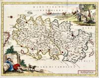Carta geografica dell'Isola di Sardegna