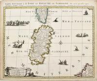 Carte nouvelle de l'isle et royaume de Sardagne
