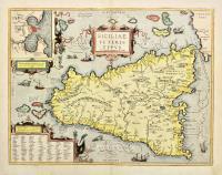 Siciliae veteris typus ex conatibus geographicis A. Ortelij.