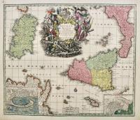 Siciliae Regnum cum adjacente Insula Sardinia et maxima parte Regni Neapolitani.
