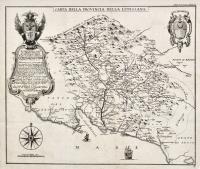 Carta della Provincia della Lunigiana.