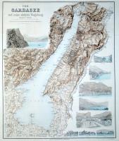 Der Gardasee und seine naechste umgebung.