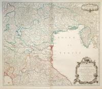 Partie orientale de la Lombardie qui comprend la République de Venise, le Mantouan, le Cremonese, l'Evêché de Trente, et les confins du Duché de Toscane, et de l'Etat de l'Eglise.