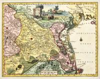 Carta geografica del territorio padovano