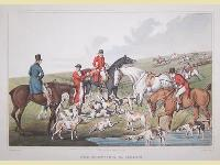 Fox hunting. The death.