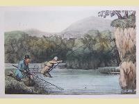 Scena di pesca.