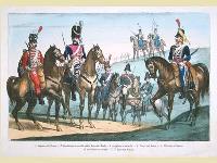 Uniformi militari del XIX secolo.