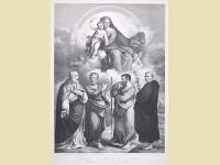 St. Geminianus, St. Petrus, St. paulus, St. Antonius.