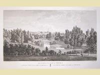 Vue générale du parc de Méréville.