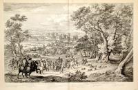 Veuë du Chasteau de Vincennes du costé du Parc.