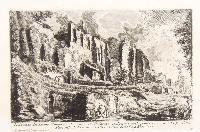 Avanzo del Teatro Neroniano domestico sul Palatino. Avanzi dalla parte esterna delle pareti del Peristilo di Nerone. Altri avanzi della Casa Neroniana.