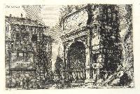 Veduta dell'Arco di Tito.