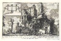 Avanzo del primo Castello di una parte dell'Acqua Giulia. Avanzo del condotto Supplito in pianta colla...