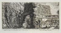 Veduta degli avanzi dell'Anfiteatro Flavio dalla parte interna…