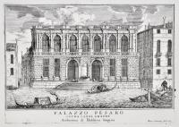Palazzo Pesaro sopra Canal Grande. Architettura di Baldisera Longhena