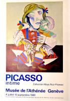 Picasso intime. Collection Maya Ruiz-Picasso. Musée de l'Athénée Genève. 4 Juillet – 6 Septembre 1981.