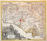 Gli Stati del sommo pontefice chiamati il Patrimonio di San Pietro.