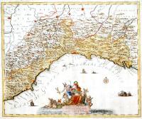 Carta geografica del governo della Liguria o sia dello Stato della repubblica di Genova.