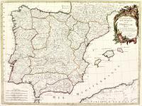 Les Royaumes d'Espagne et de Portugal.