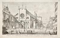 Platea S.S. Johannis et Pauli, eorum Templum et Schola D. Marci (Campo Santi Giovanni e Paolo)