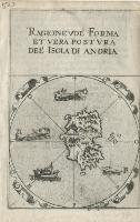 Ragionevol' forma et vera postura del'isola di Andria.