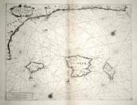 Le coste maritime di Valentia e Catalogna da C.S. Martin sin a C. Dragonis, com'anche l'Isle di Magliorca, Minorca et Evisa.