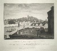 Veduta delle Rigaste di S. Stefano e suoi d'intorni in Verona.