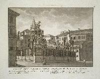 Sepolcri degli Scaligeri in Verona (ripetuto in francese).