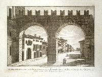 Portoni della Bra e Corso di Porta Nuova in Verona (ripetuto in francese).