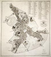 Pianta della città di Siena.