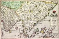 Tertiae partis Asiae qua modernis India orientalis dicitura curata delineatio