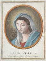 Mater Amabilis (di Rosalba Carriera). Ex collectione Marci Antonij Grimani.