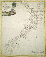 La Nuova Zelanda trascorsa nel 1769. e 1770 dal Cook comandante dell' Endeavour vascello di S. M. Britannica