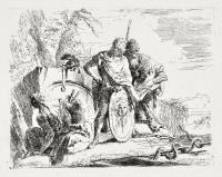 Astrologo e giovane soldato