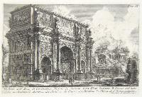 Veduta dell'arco di Costantino Magno….