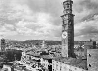 Verona Torre dei Lamberti 1960