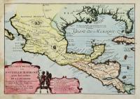 Le vieux Mexique ou Nouvelle Espagne avec les costes de la Floride.