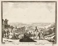 Praga, Antiquorum Marobodum, regni Bohemici caput, Moldae fluvis incumbens (ripetuto in olandese)