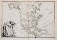 L'Amerique Septentrionale divisée en ses principaux etats.