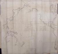 Carte des Déclinaisons et Inclinaisons de L'Aiguille Aimantée redigée d'après la table des observations Magnétiques faites par les Voyageurs depuis l'année 1775.