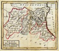 Etats de Modene, Bologne, Ferrare & la Romagne.