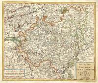 Nuova carta del ducato di Lucemburgo e della contea di Namur